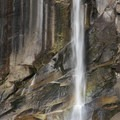 Rainbow through Vernal Fall.- Panorama Trail