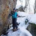 "The Clara Bow Trail is marked as ""rough"" for a reason- Taylor Lodge Snowshoe via Nebraska Notch"