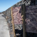 The path leading from the public parking area.- Kikaua Point Park + Beach