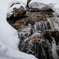 Centennial Pool.- Mount Willard: Winter Hike