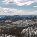 Looking south down the Hudson River Valley.- Mount Beacon Fire Tower