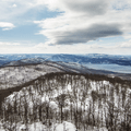 Looking southwest from the fire tower.- Mount Beacon Fire Tower