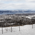 Gazing west over the Hudson River Valley.- Mount Beacon Fire Tower