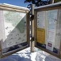 Information at the trailhead. - Lily Pad Lake
