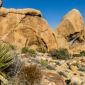 Rocks along the Split Rock Trail in Joshua Tree National Park.- Split Rock Loop Hike