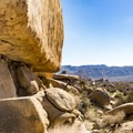It is fun to stop and play in the boulders.- Geology Tour Road