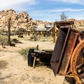 Equipment from the working days of the ranch is everywhere.- Keys Ranch