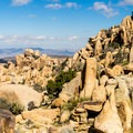 Looking north to the Yucca Valley from the mine plateau.- Eagle Cliff Mine Hike