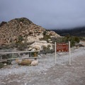 White Rock Trailhead is the beginning of the Keystone Thrust hike.- Keystone Thrust