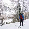 Lots and lots of skiers come down the trail, so be aware.- Secret Falls Snowshoe