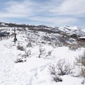 Snowshoeing the Round Valley Complex.- Round Valley Trails, Cove Trailhead