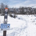 Signs along the trail suggest best uses.- Round Valley Trails, Cove Trailhead