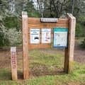 Trailhead information for the Lagoon Loop Trail.- Lagoon Loop Trail