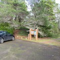 Parking at the trailhead within the Lagoon Campground.- Lagoon Loop Trail