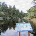 Interpretive signs are scatted troughout the loop.- Lagoon Loop Trail