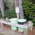 Recycling center in the Lagoon Campground.- Lagoon Campground
