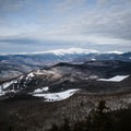 The view of the White Mountains from South Doublehead.- Doublehead Mountain