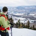 The ledge on South Doublehead.- Doublehead Mountain