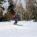 The ski trail down South Doublehead.- Doublehead Mountain