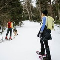 Taking a break before the terrain gets steep.- Doublehead Mountain