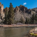 Smith Rock State Park.- Crooked River: Lone Pine Bridge to Crooked River Ranch