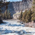 Wap-De-Doodle on the Crooked River.- Crooked River: Lone Pine Bridge to Crooked River Ranch