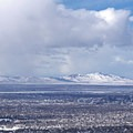 Such great views of Salt Lake City and Antelope Island from up here.- Rattlesnake Gulch