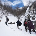 This route is a popular snowshoe in winter.- Rattlesnake Gulch