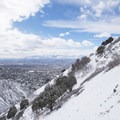 Salt Lake Valley from Rattlesnake Gulch.- Rattlesnake Gulch