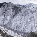 Millcreek Canyon and Mount Olympus.- Rattlesnake Gulch