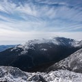 The view of the Presidential Range.- Mount Madison