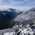 On the summit of Mount Madison.- Mount Madison