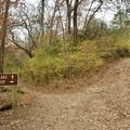 Intersection of the lake and ridge trails.- Hidden Lake