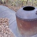 An old fuel tank.- Hidden Lake