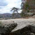 Open views from the bluff.- Narrows of the Harpeth