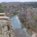 Views from the top of bluff along the Narrows of the Harpeth.- Narrows of the Harpeth