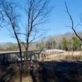 Bridge across Couchville Lake.- Couchville Lake