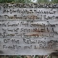 Rebuilding efforts are ongoing.- Franklin Ghost Town, Mine + Cemetery