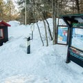 Trailhead P7 in Kingsmere.- Gatineau Park Cross Country Skiing