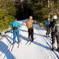 Trails are well groomed in the Gatineau Park.- Gatineau Park Cross Country Skiing