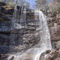 The main falls of the hike.- Glen Onoko Falls