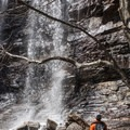 You can get up close and feel the mist from the falls; it's a nice way to cool off in the summer.- Glen Onoko Falls