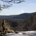 The view of Lehigh Valley from the top of the falls.- Glen Onoko Falls