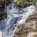 Working up toward the upper falls.- Glen Onoko Falls