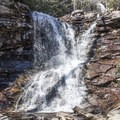 The lower falls are the first to come in to view.- Glen Onoko Falls