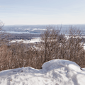 Overlooking the Hudson Valley (Red Trail).- Shaupeneak Ridge