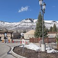 The Nordic center is located at Hotel Park City on the northwest side.- White Pine Nordic Center