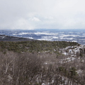 Castle Point scenic viewpoint.- Lake Minnewaska to Lake Awosting