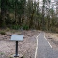 The trailhead starts at the end of a dead end road in a neighborhood. - Ridgeline Trail System: Martin Street Trailhead to Fox Hollow Trailhead