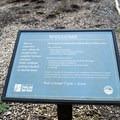 Trailhead sign.- Ridgeline Trail System: Martin Street Trailhead to Fox Hollow Trailhead